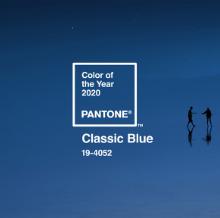 Az év színe 2020-ban a  klasszikus kék