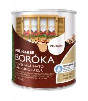 Poli-Farbe Boróka vízzel hígítható fabevonó lazúr