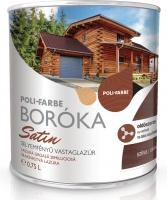 Poli-Farbe Boróka Satin vastaglazúr