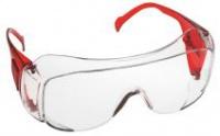 Schuller védőszemüveg piros EN 166 polika