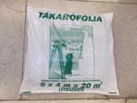 Takarófólia létrázható 4*5 fm 20 m2 60 mm
