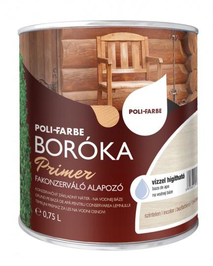 POLI-FARBE BORÓKA PRIMER FAKONZERVÁLÓ ALAPOZÓ 2.5L