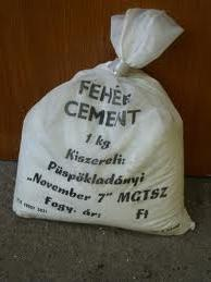 FEHÉR CEMENT (POLI-FARBE) 5KG