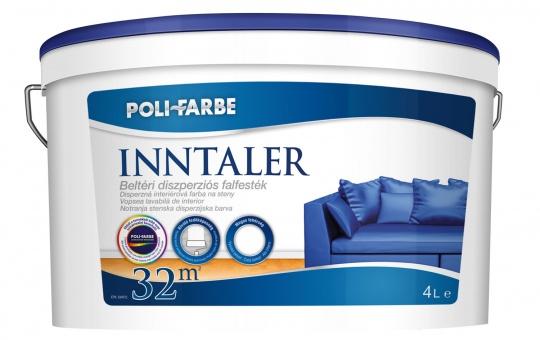POLI-FARBE INNTALER BELTÉRI FALFESTÉK FEHÉR 4L