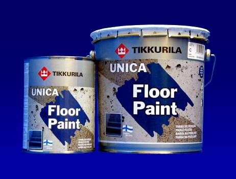 TIKKURILA UNICA FLOOR PAINT 2.7L